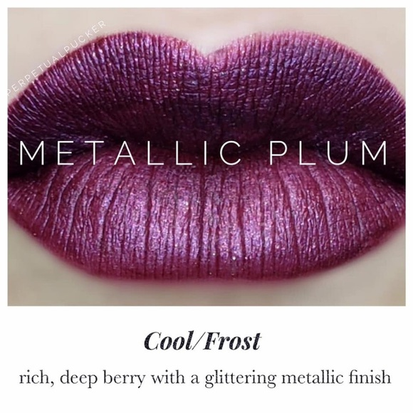 LipSense Metallic Plum